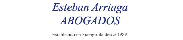 Logotipo despacho de abogados en Málaga Esteban Arriaga Abogados
